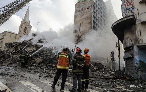 В Бразилии более 40 человек пропали при пожаре