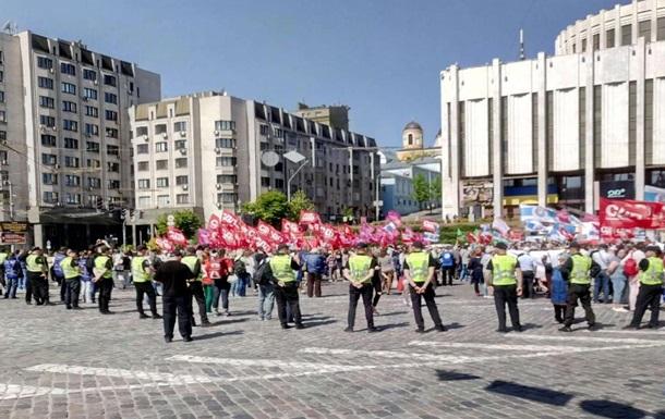 Серьезные нарушения на Первомай не зафиксированы - МВД