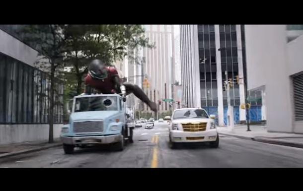 Появился новый трейлер оприключениях Человека-муравья