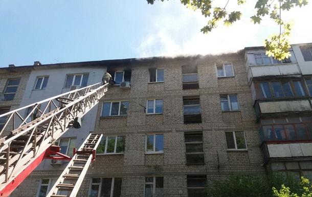 В Харькове произошел пожар в многоэтажке, погиб мужчина