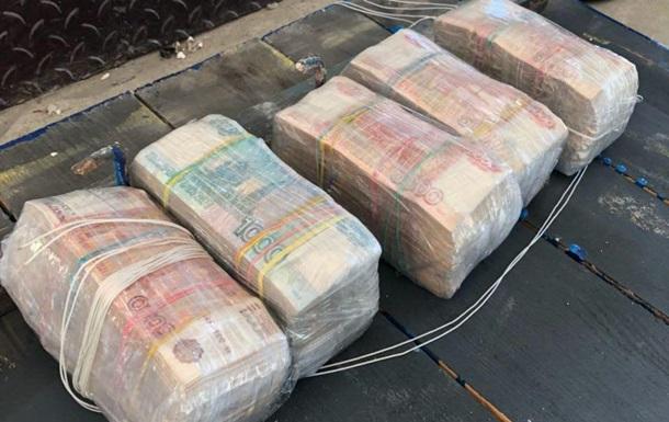 Пограничники изъяли у украинца 15,5 млн рублей