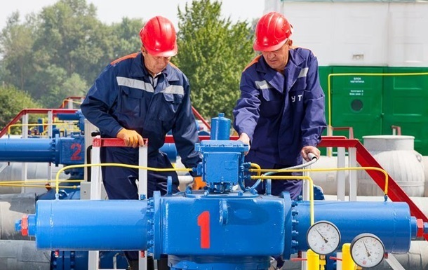 Украина снизила импорт газа более чем вдвое