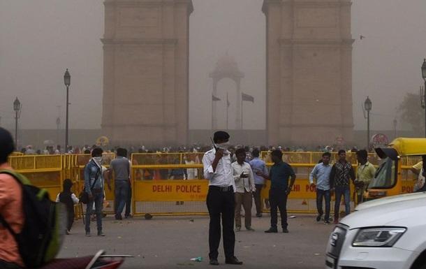 В Индии из-за песчаной бури погибли 77 человек