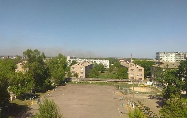 Пожар в Балаклее: пострадавших нет