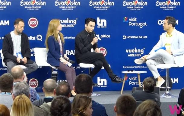 Melovin дав інтерв ю іноземним журналістам