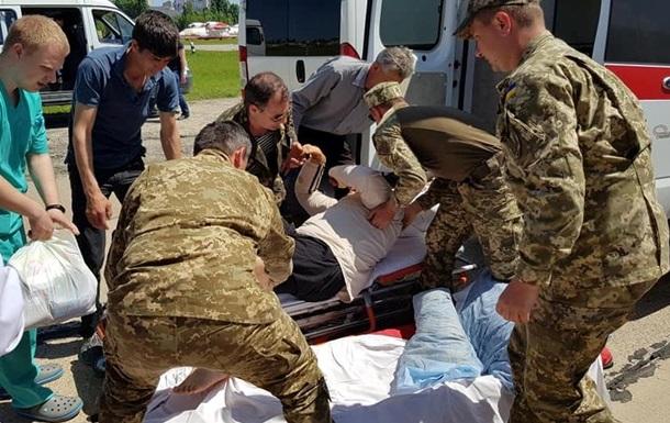 У госпіталь Одеси прибули поранені з Донбасу