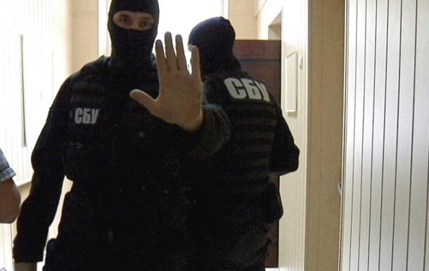 СБУ пришла с обысками к сторонникам Саакашвили
