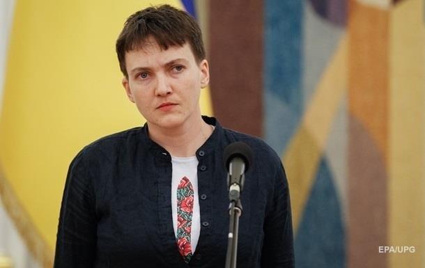 Появилось фото Савченко после 42 дней голодовки