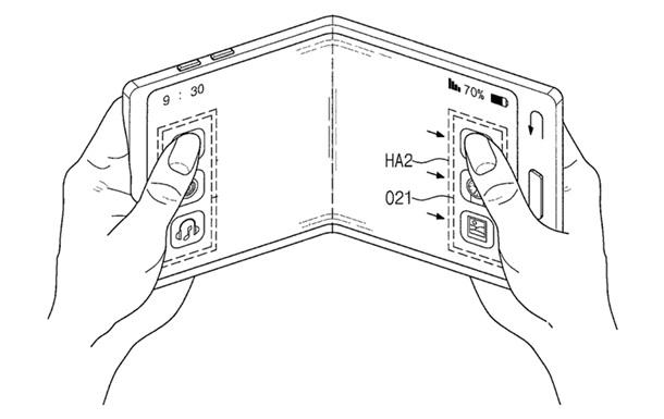 Samsung запатентовала гибкий прозрачный смартфон