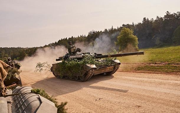 Бойцы ВСУ  подбили  танки Abrams в Германии