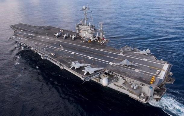 Авіаносна група США почала завдавати удари по ІД в Сирії