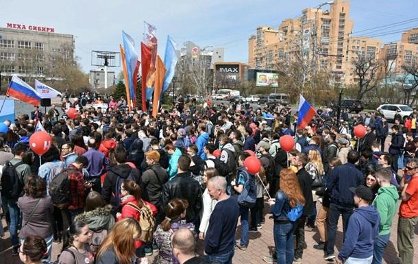 Він нам не цар : у Росії протести перед інавгурацією Путіна