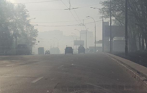 В Киеве горят сады, в воздухе стоит гарь