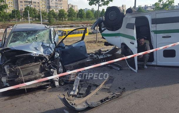 У Києві інкасатори постраждали в ДТП