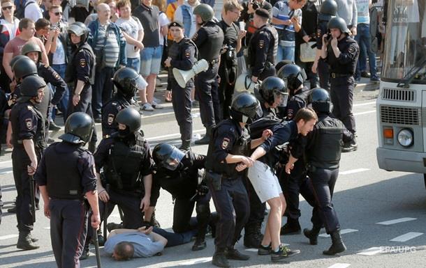 ЄС засудив дії влади РФ під час протестів