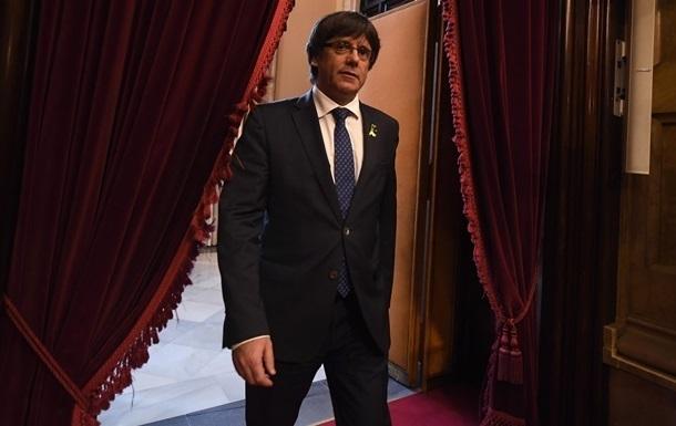 Пучдемона вновь выдвинут в премьеры Каталонии