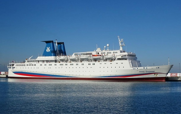 В РФ загорелся лайнер перед отплытием в Крым