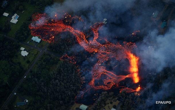 Извержение вулкана на Гавайях: уничтожены девять домов