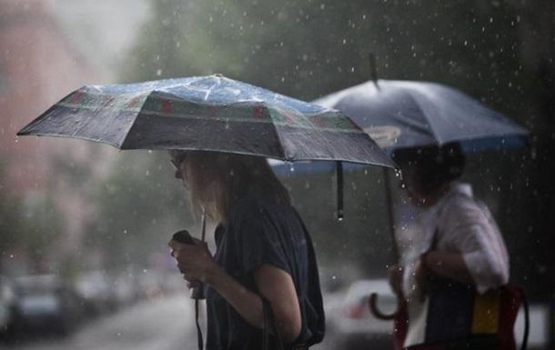 Сегодня Украину накроют дожди
