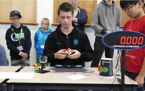 Встановлено новий рекорд зі складання кубика Рубика
