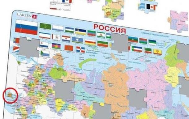 Киев направил Осло ноту из-за карты с российским Крымом