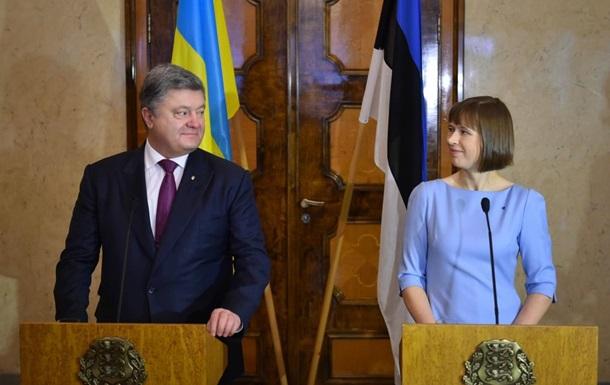 Президент Естонії на три дні приїде в Україну