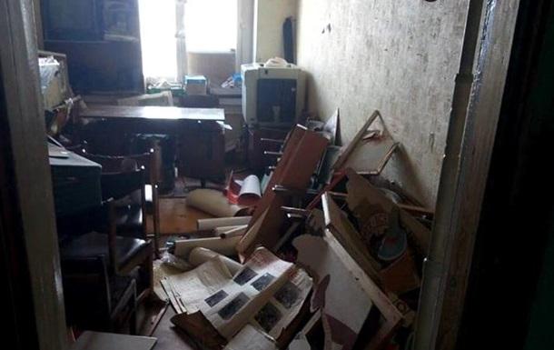 В офисе Трудовой Харьковщины устроили погром