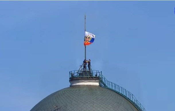 На инаугурации Путина не поднялся флаг президента