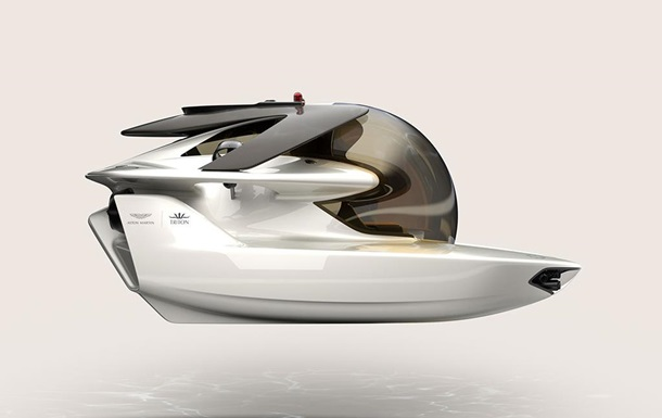Aston Martin показал первую электросубмарину