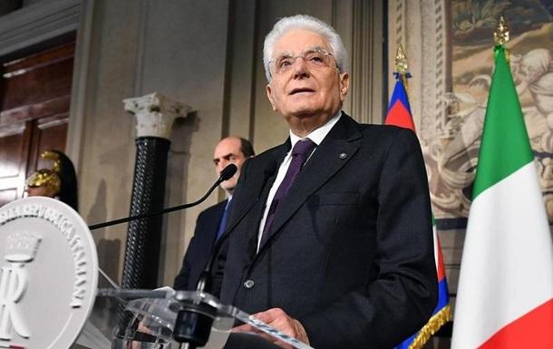 Президент Італії пропонує сформувати  нейтральний уряд