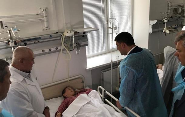 Состояние госпитализированных в Черкассах детей стабильное – Гройсман