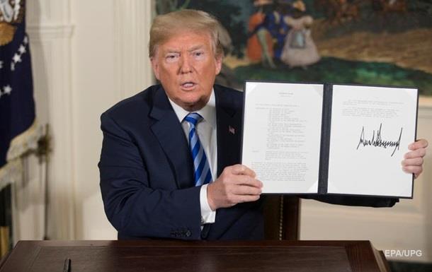 Трамп оголосив про вихід США з угоди щодо Ірану