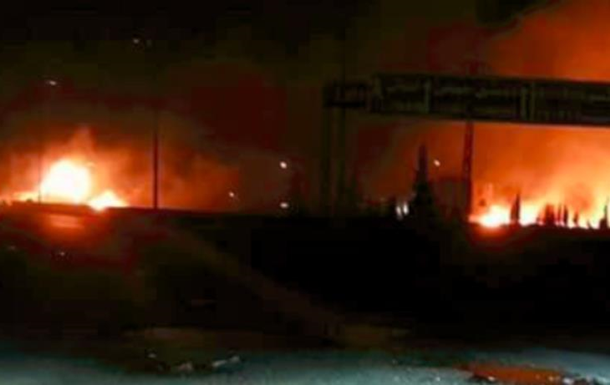 Ізраїль завдав удару по околицях Дамаска