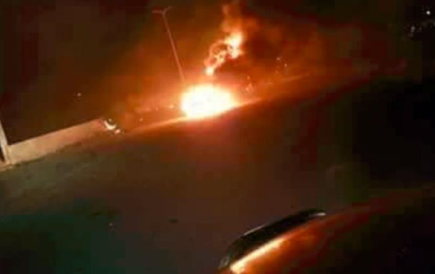 Появилось видео последствий удара Израиля по Сирии
