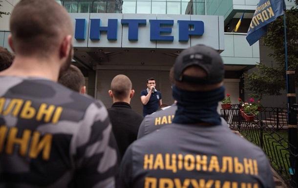 В полиции заявили, что контролируют ситуацию под Интером