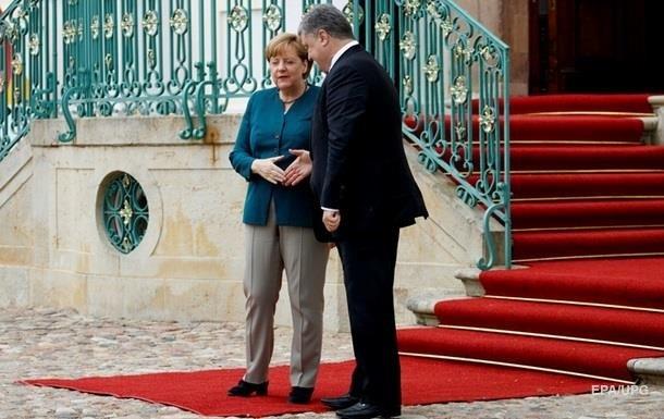 Сегодня Порошенко встретится с Меркель и Макроном