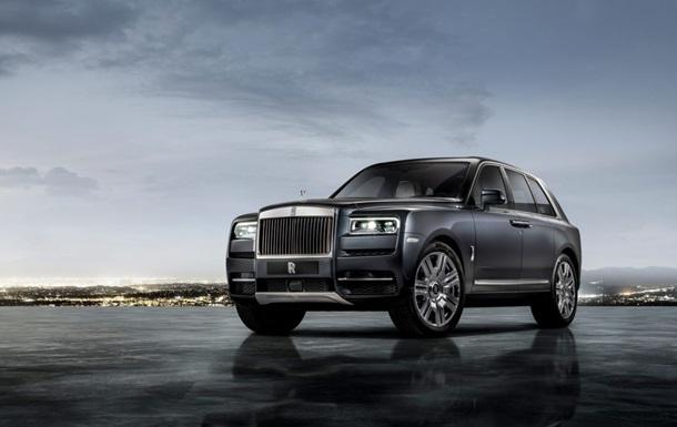 Состоялся дебют кроссовера Rolls-Royce Cullinan