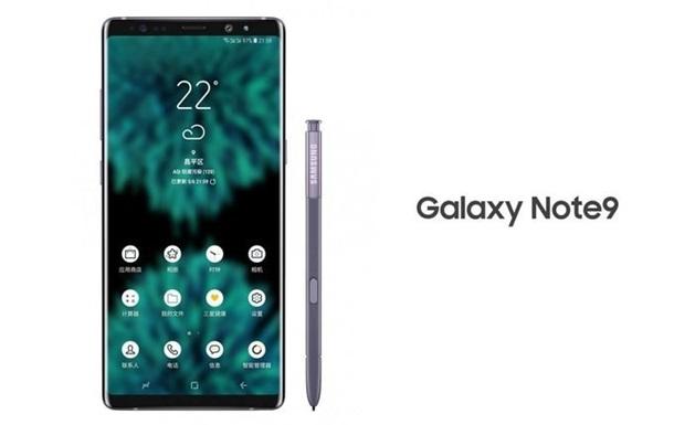 Galaxy Note 9  засветился  на новом рендере