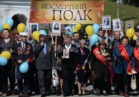 «Фашизм не пройдет»! День Победы в Украине - рискованный праздник