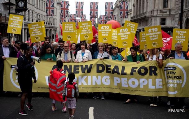 У Лондоні пройшла масштабна акція протесту