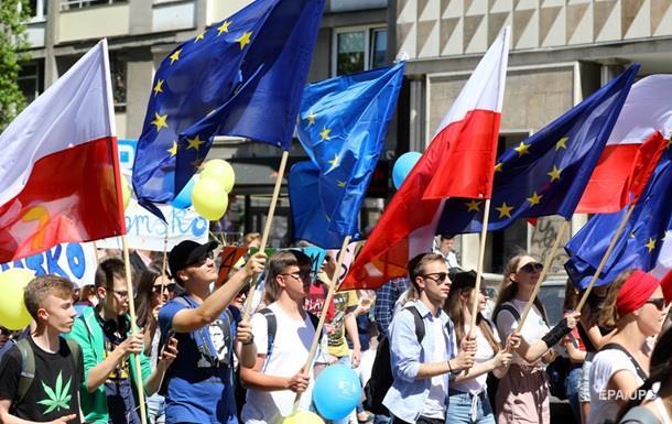 Тысячи поляков митинговали против политики властей