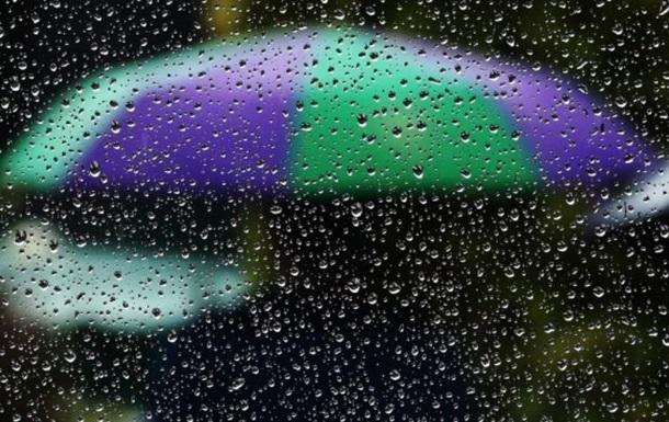 В Україні прогнозують дощі та грози