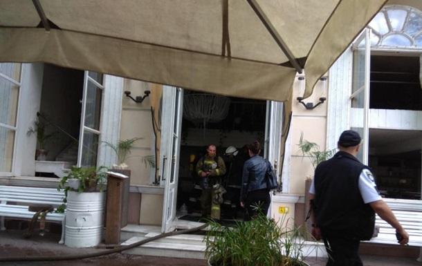 В центре Одессы горел ресторан