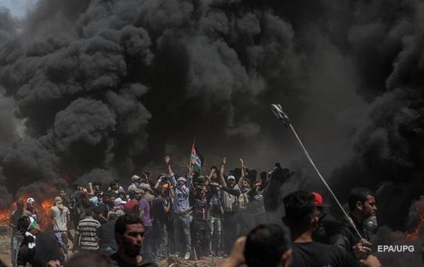 Зіткнення в секторі Газа: кількість жертв досягла 55