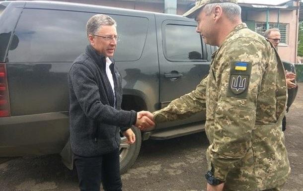 Волкер проводит встречу с командующим ООС