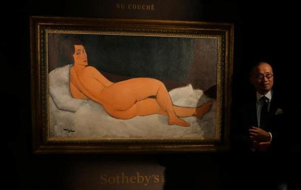 Картина Модільяні продана за рекордні для Sotheby s 157 мільйонів доларів