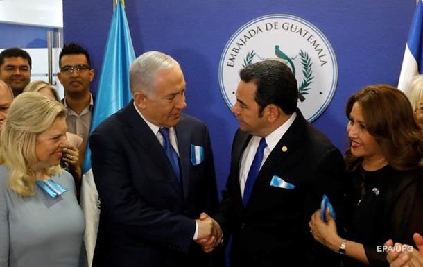 У Єрусалимі відкрилося посольство Гватемали
