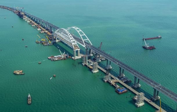 Механизм давления на Украину. Мир о Крымском мосте