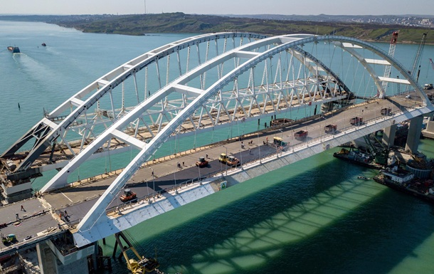 Омелян озвучил убытки от Крымского моста