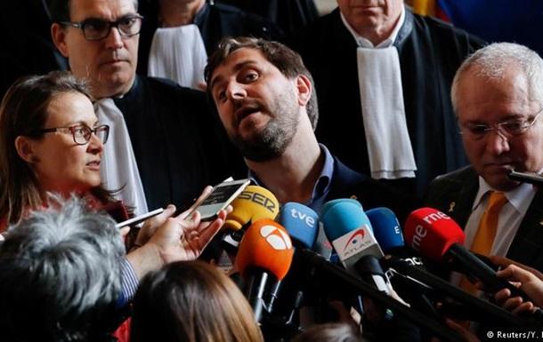 Бельгія відмовилася видати Іспанії трьох екс-міністрів уряду Каталонії